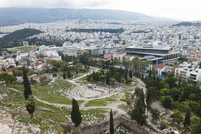 taetro greco dioniso acropoli atene