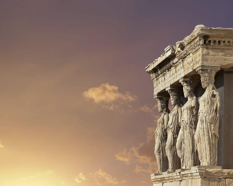 cariatidi acropoli atene