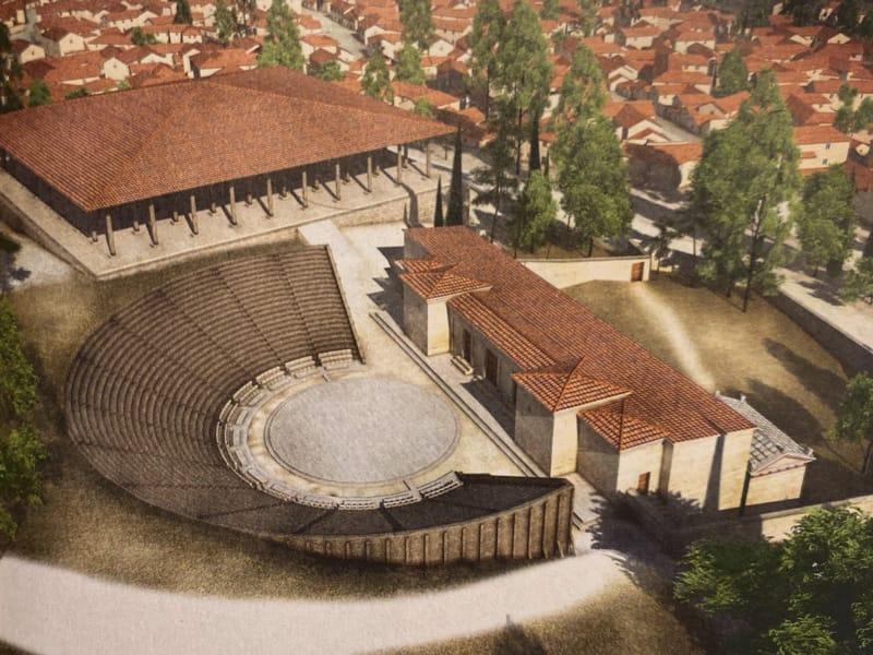 ricostruzione teatro
