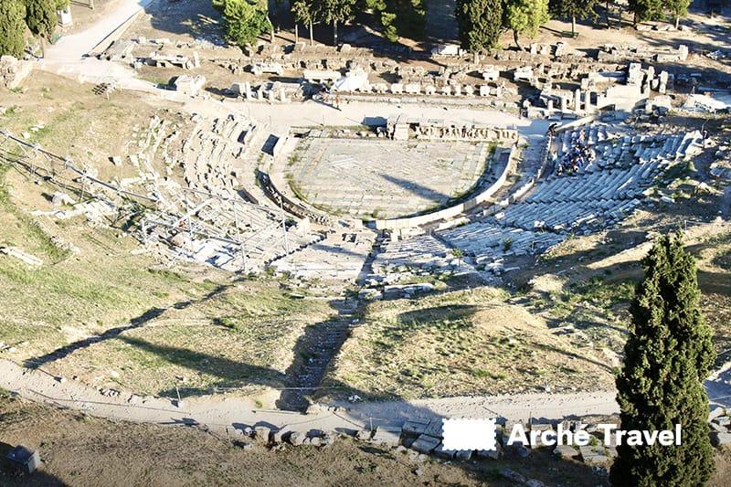 restauro teatro dioniso