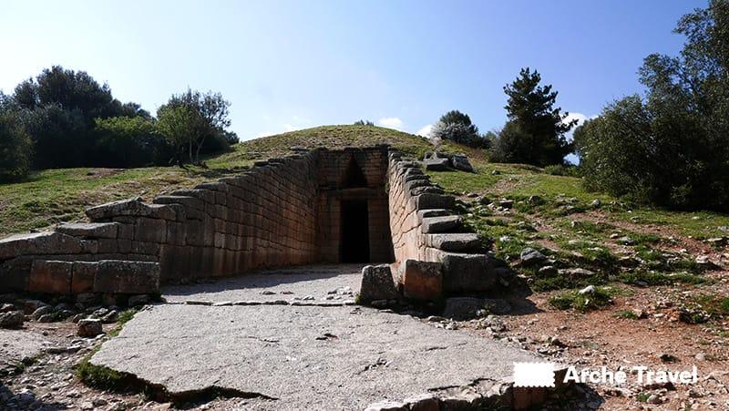 micene grecia tombe