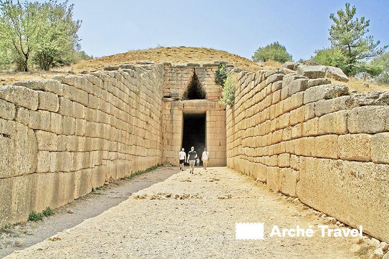 micene grecia tesoro di atreo micene agamennone tomba