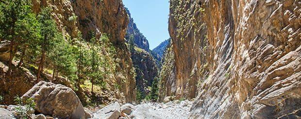 Escursione Gole di Samaria Creta - Escursione Gole di Samaria da Chania
