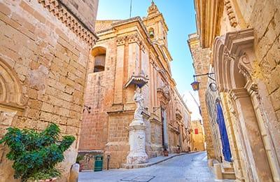 Tour Malta Ponte 25 Aprile 2021 - Tour Operator Malta