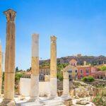 blog grecia guida di viaggio - Agorà romana di Atene