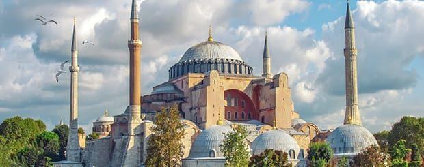 La basilica di Santa sofia di Istanbul