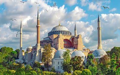 blog turchia guida di viaggio - La Basilica di Santa Sofia di Istanbul