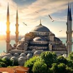 blog turchia guida di viaggio - la moschea blu di Istanbul