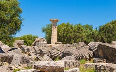 Il sito archeologico di Olimpia Grecia - blog di viaggi archeologia grecia classica