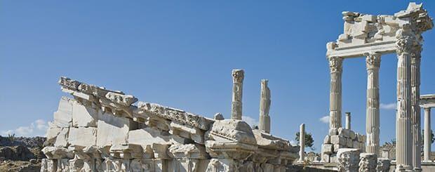 sito archeologico di pergamo turchia