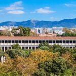 blog grecia guida di viaggio - La stoà di Attalo di Atene