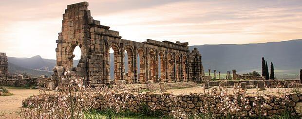 volubili sito archeolgico marocco