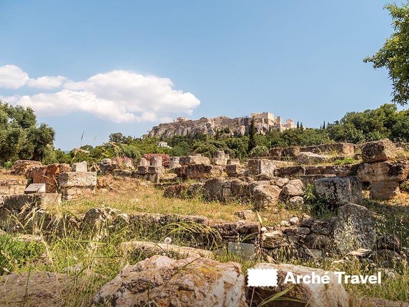 Acropoli antica agorà atene