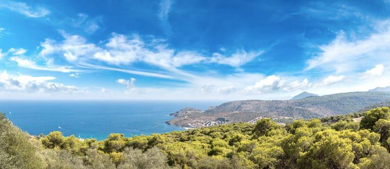 aegina egina isole saroniche grecia