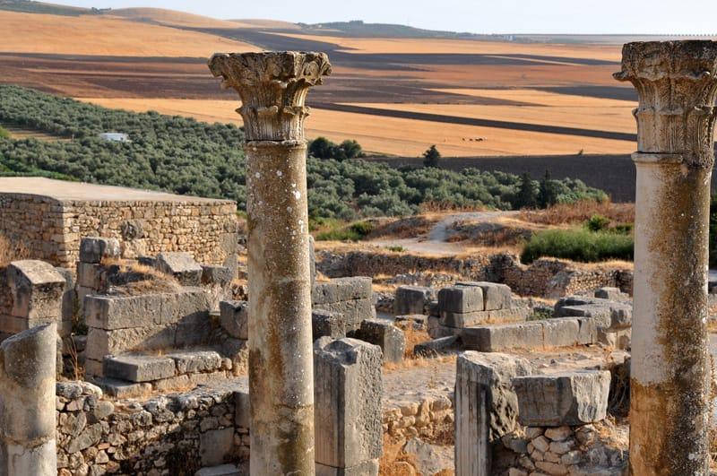 Storia Volubilis sito archeologico