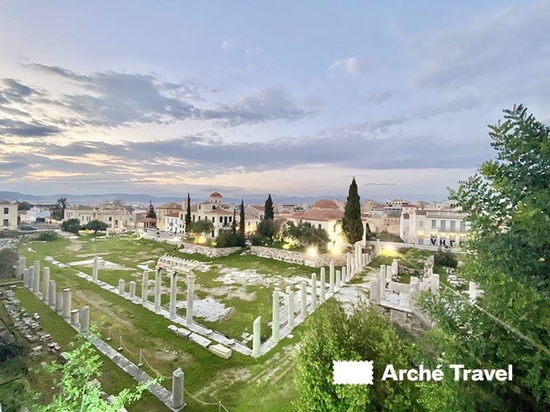 resti agorà romana
