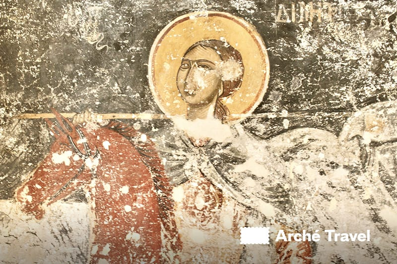 affresco chiesa Agios Dimitrios