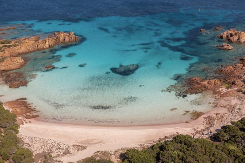 Spiaggia Rosa - più belle spiagge sardegna cartina