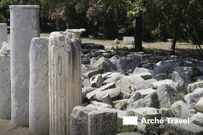 colonne agorà