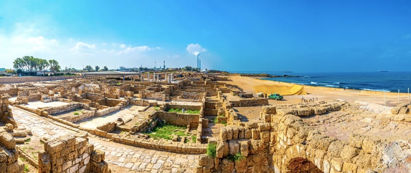 Cesarea, israele mare