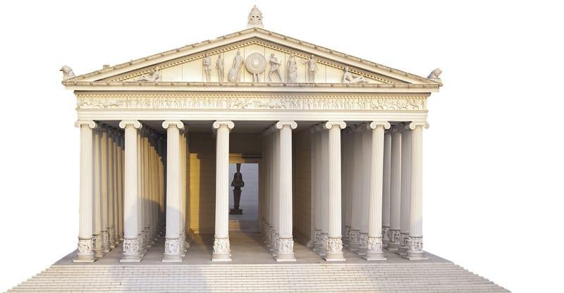 le antiche sette meraviglie del mondo efeso tempio di artemide artemisio