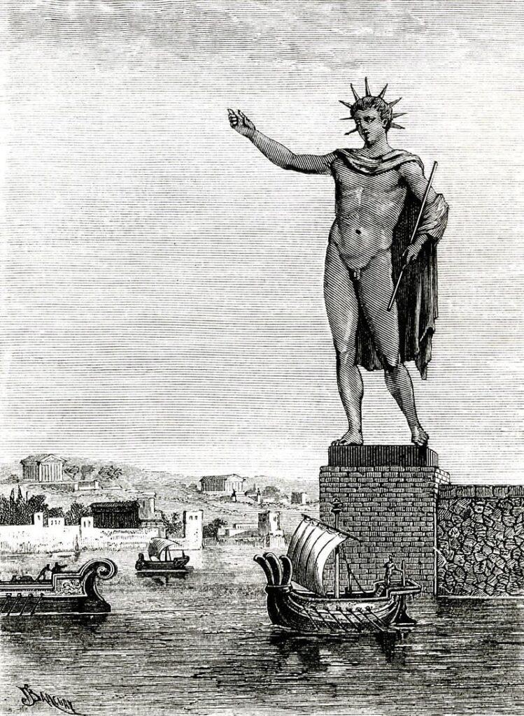 Colosso di Rodi 7 meraviglie del mondo antico
