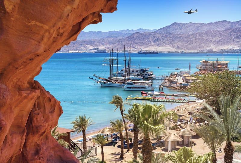 Eilat, israele mare