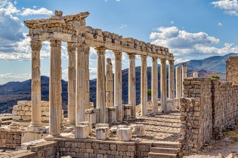Tempio di Traiano Pergamo Turchia