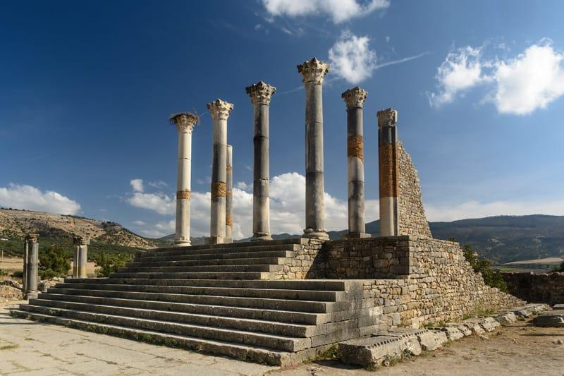Sito archeologico campidoglio Marocco