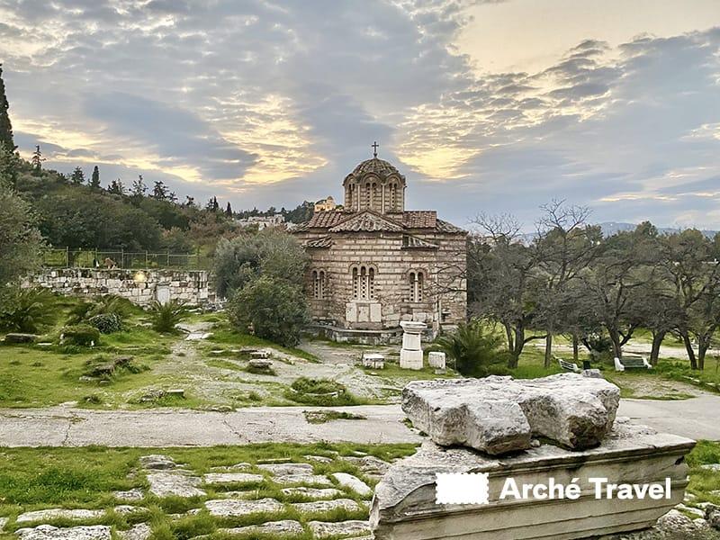 Agios Dimitrios restauri