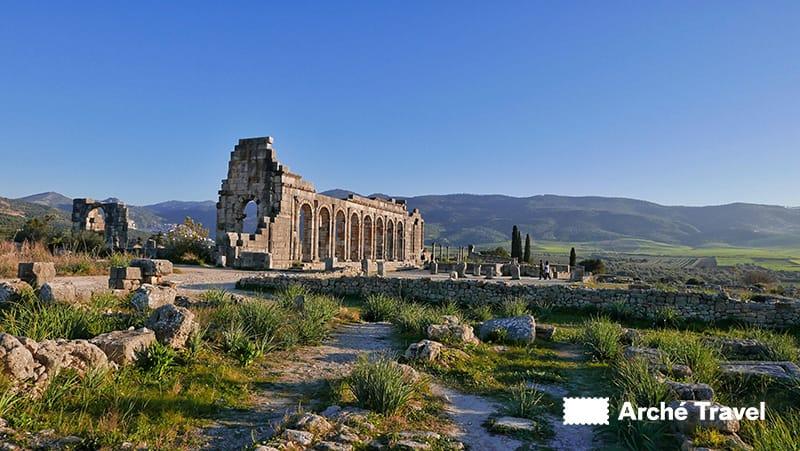 Volublis marocco basilica