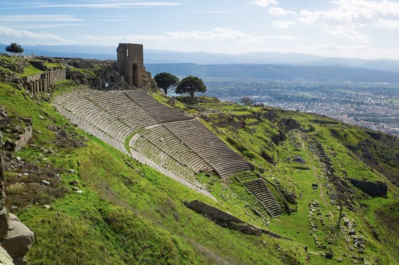 Pergamo Turchia Teatro di Dionisio