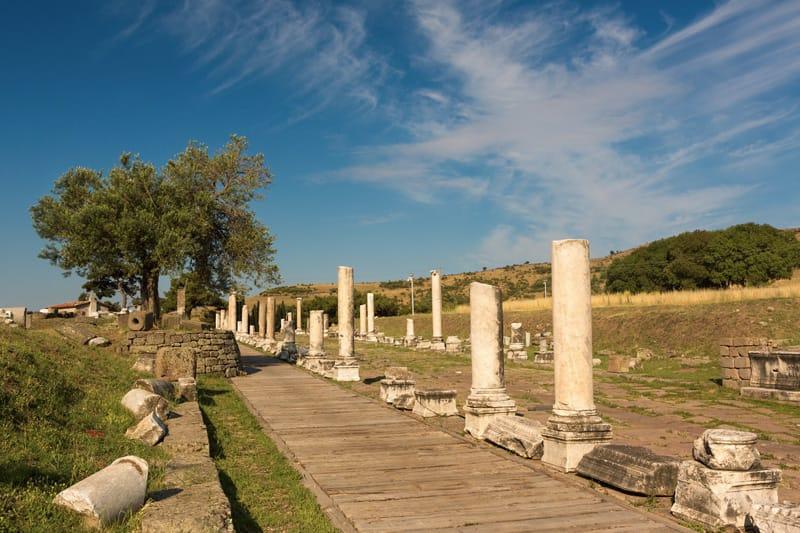 Tempio di Asklepion Pergamo Turchia