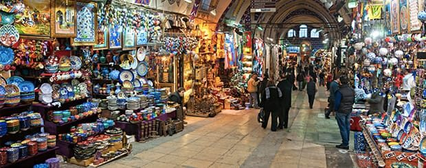 Gran Bazar Istanbul - Grande Bazar d'Istanbul