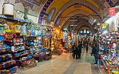 blog turchia guida di viaggio - Il Grand Bazaar di Istanbul