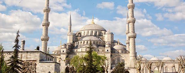 La moschea di Solimano ad Istanbul