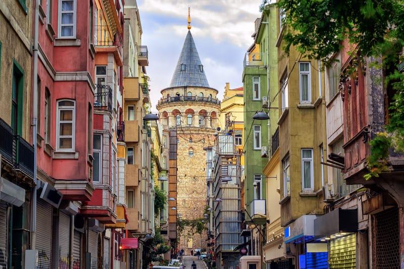 la torre di galata istanbul