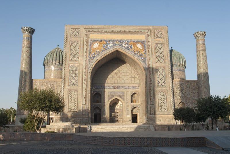 ingresso madrasa Cher-Dor