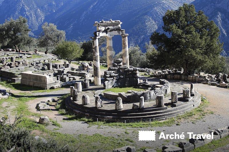 Delfi Santuario Atena