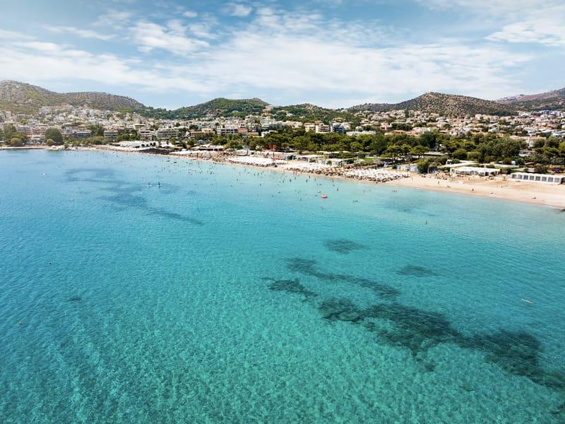 varkiza le spiagge più belle di atene