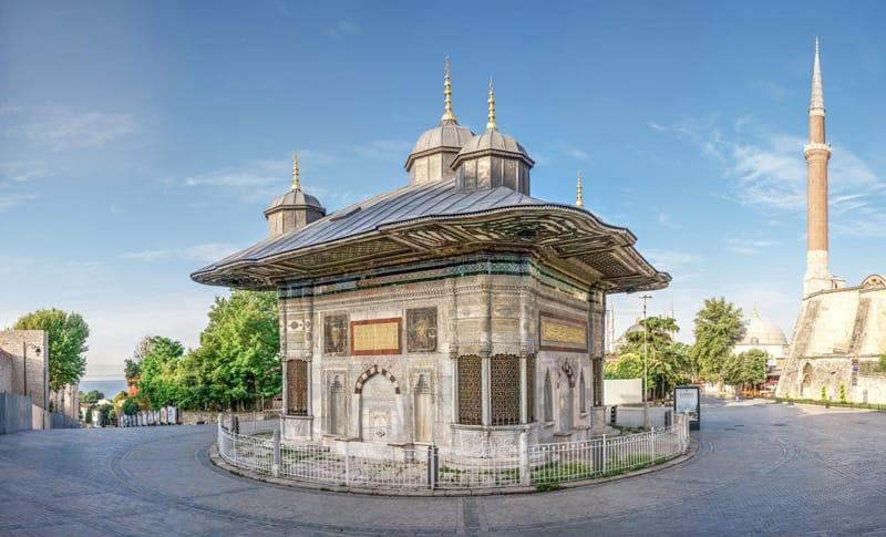 fontana sultano Ahmed III