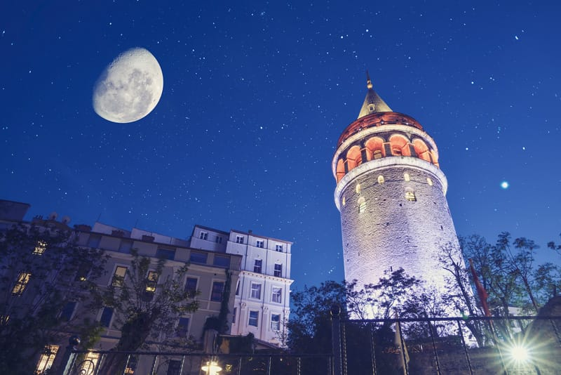 torre stile ottomano