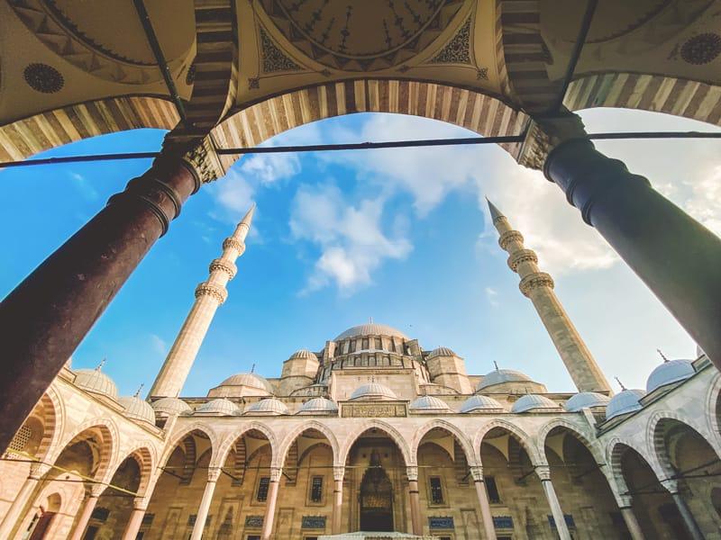 facciata moschea
