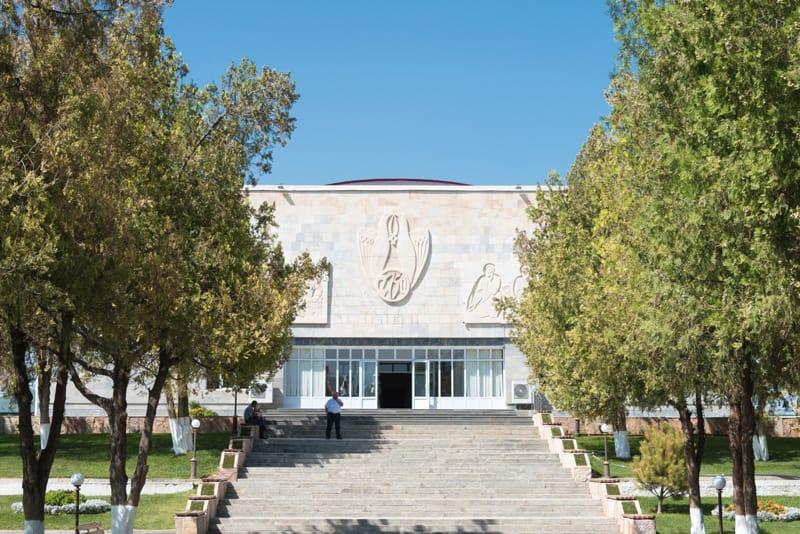 museo di Afrasiab - Cosa vedere a Samarcanda