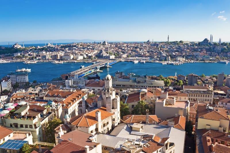 panorama torre di galata istanbul