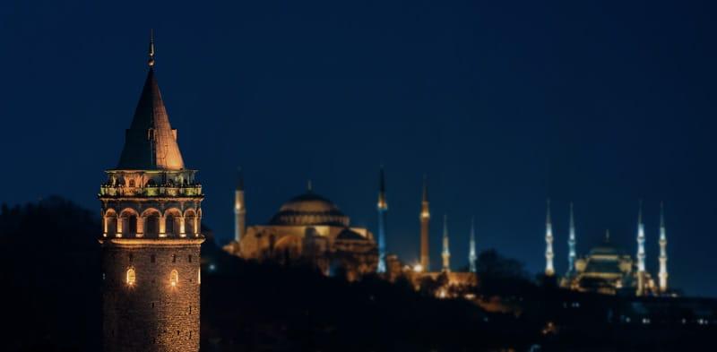 skyline di Istanbul