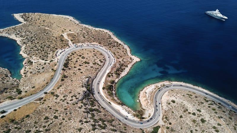 limanakia dove andare al mare ad atene