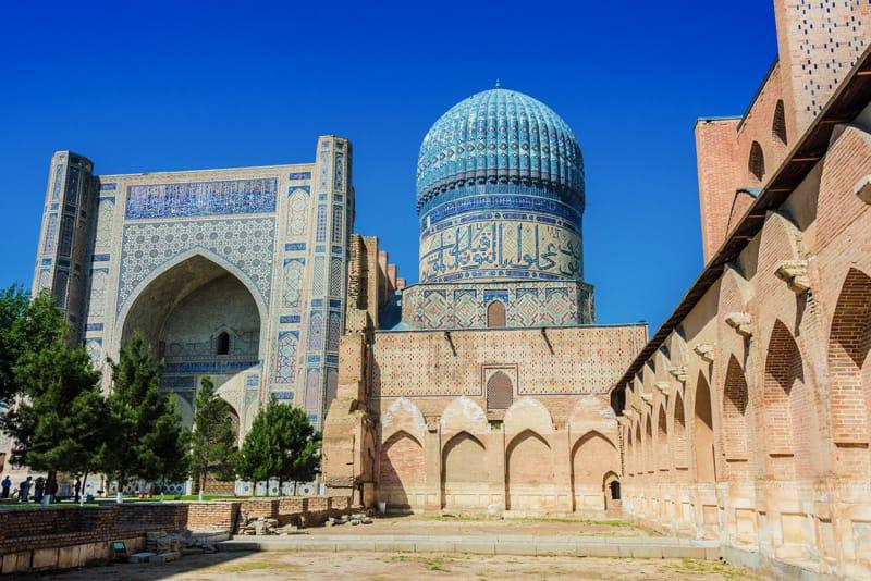 moschea Bibi-Khanym - Cosa vedere a Samarcanda