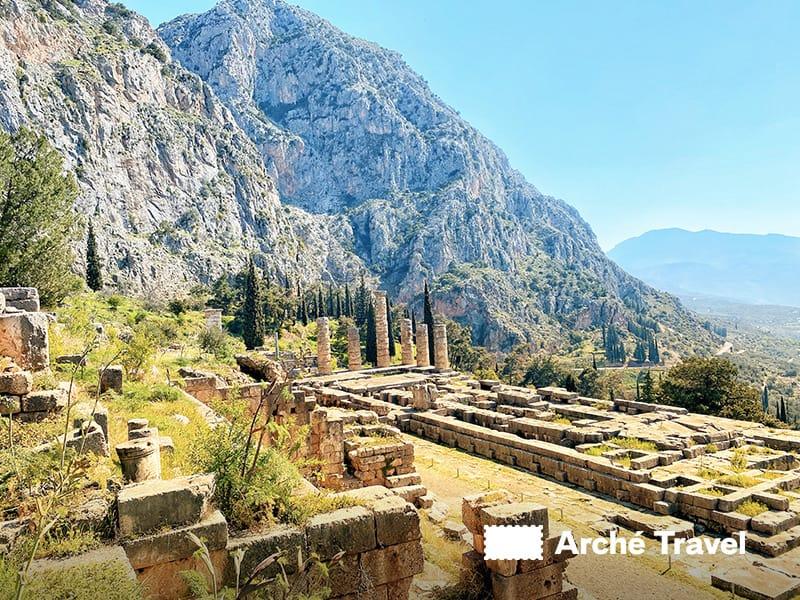 Tempio di Apollo Delfi Santuario