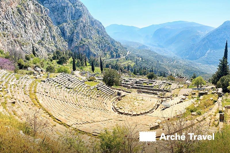 Santuario di Delfi Teatro
